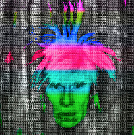 Multi Color III Andy Warhol by Alex Cao