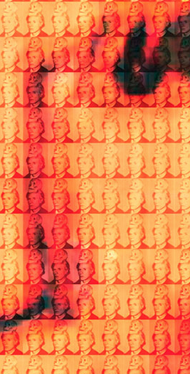 You and Me+ Warhol (Orange) Detail
