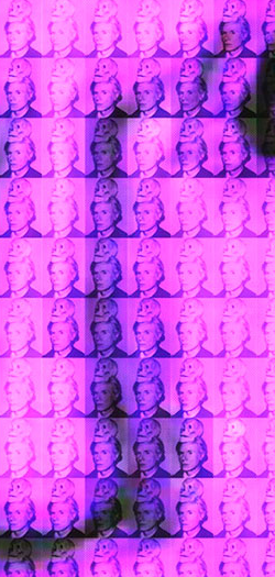 You and Me+ Warhol (Purple) Detail