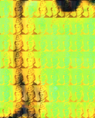 You and Me+ Warhol (Yellow) Detail
