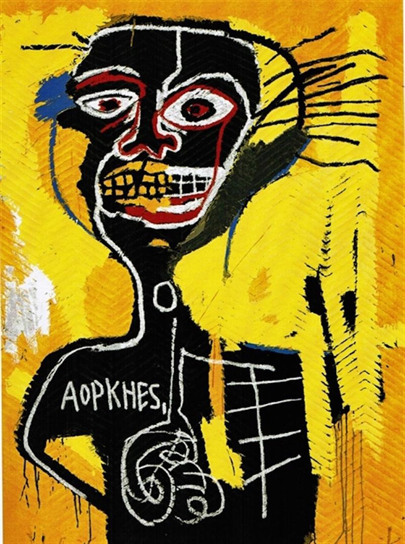 Cabeza by Basquiat