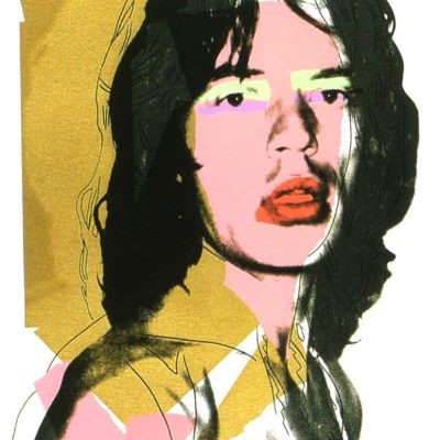 Mick Jagger 143, Andy Warhol, Pop Art