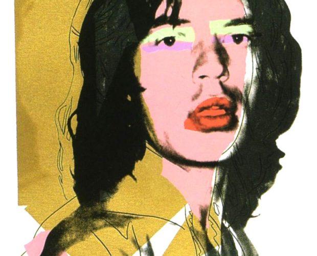 Mick Jagger 143, Andy Warhol, Pop Art