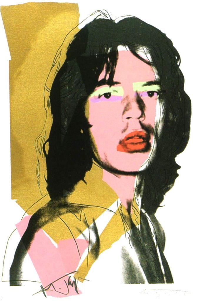 Andy Warhol RARE Original Hand Signed Lithograph Rolling
