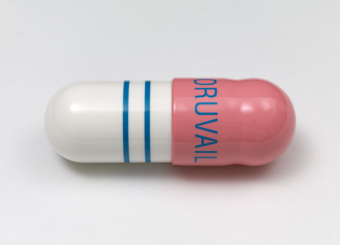 Oruvail 200mg- Pills by Damien Hirst