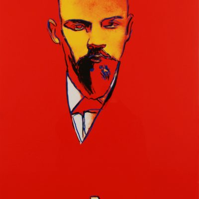 Red Lenin , Andy Warhol, pop, warhol