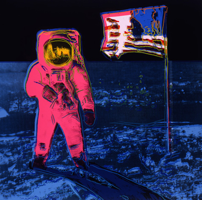Moonwalk by Andy Warhol