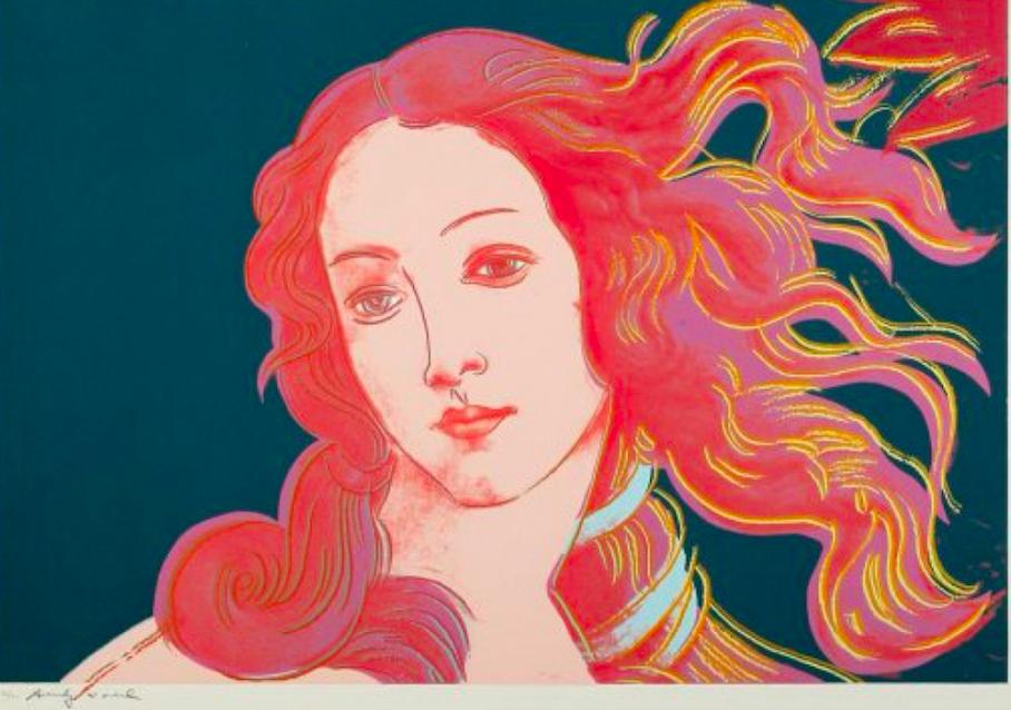Birth of Venus by Andy Warhol - Guy Hepner