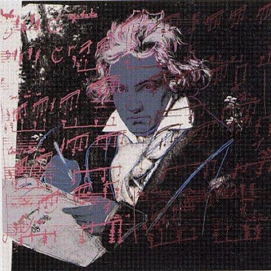 andy warhol, beethoven, pop art, ANDYWARHOL, WARHOL, POP