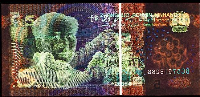 5 Chinese Yuan