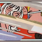 roy lichtenstein, pop art, reflections
