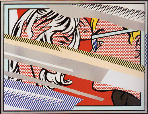 Reflection on Conversation by Lichtenstein