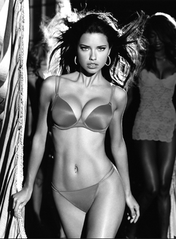Adriana Lima (Backstage) by Russell James