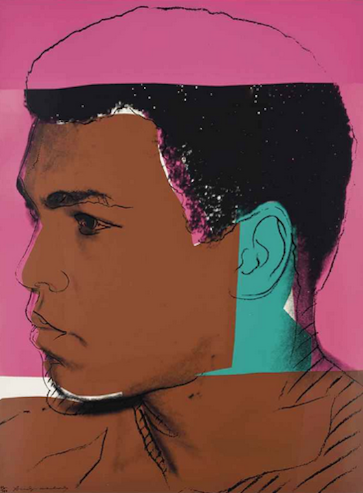 179 Muhammad Ali by Andy Warhol