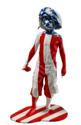 Boy Soldier America by Schoony
