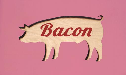 Bacon (Blowtorch Series) by Ryan McCann