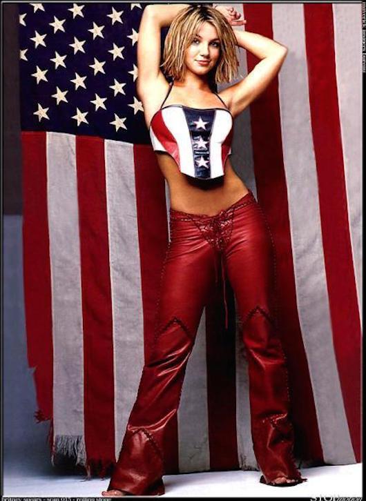 Britney Flag