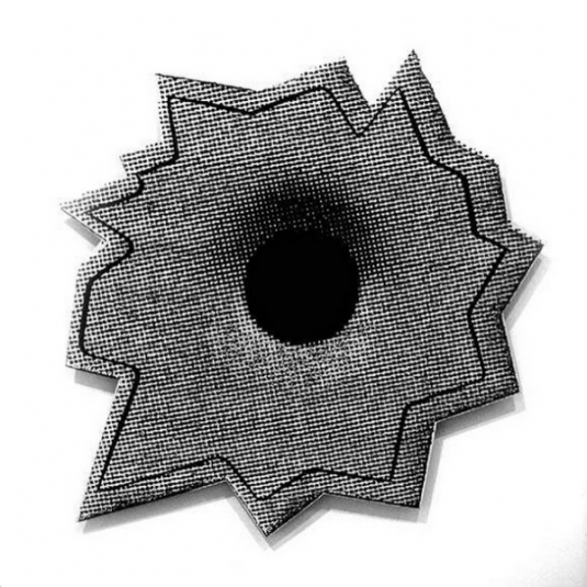 nate lowman, nate lawman bullet hole, new, Painting, sculpture, installation