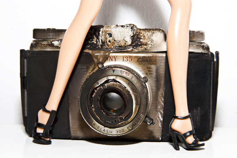 Camera Barbie by Tyler Shields