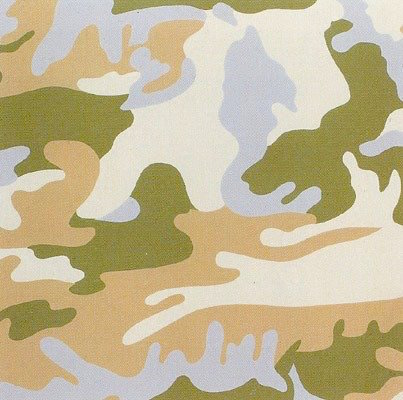 Camouflage 407 by Andy Warhol