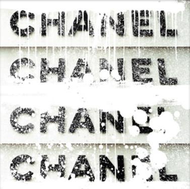 commercial, ultravelvet collection, chanel, stack, white, diamond dust, prints