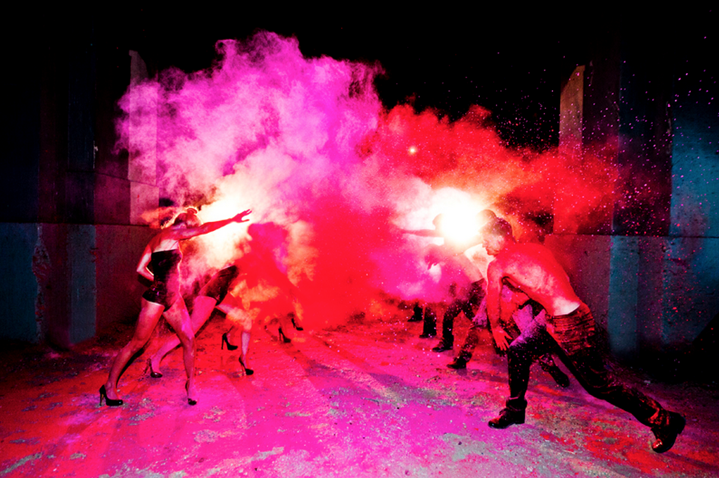 Chromatic Color War by Tyler Shields