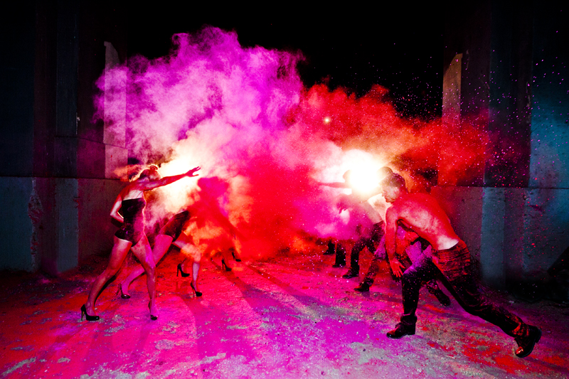Color War by Tyler Shields