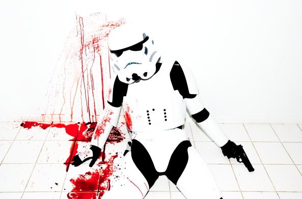 Dead Stormtrooper by Tyler Shields