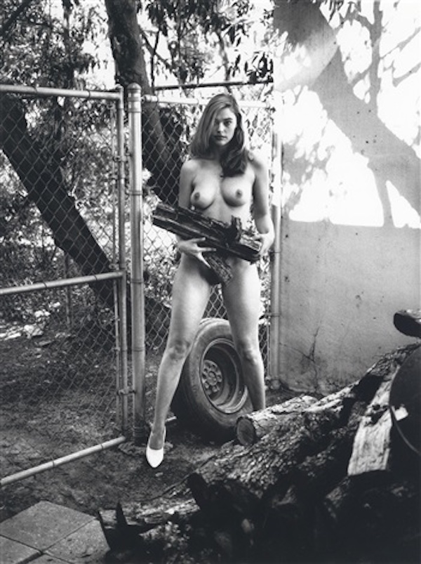 Domestic Nude XI by Helmut Newton