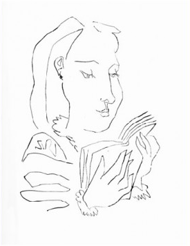 Femme Lisant by Picasso