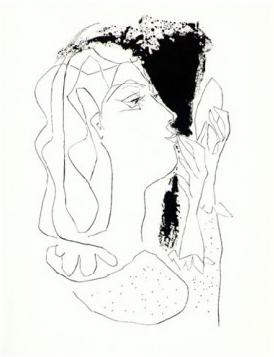 Femme au Miroir by Picasso