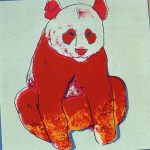andy warhol, pop art, prints, andy warhol panda, endangered species