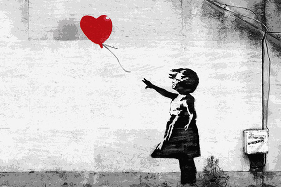 Girl With A Balloon, Banksy's Girl With A Balloon