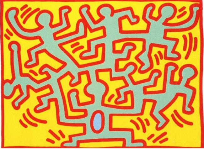 Keith Haring: Growing, Keith Haring: Growing