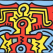 growing, keith haring, pop art