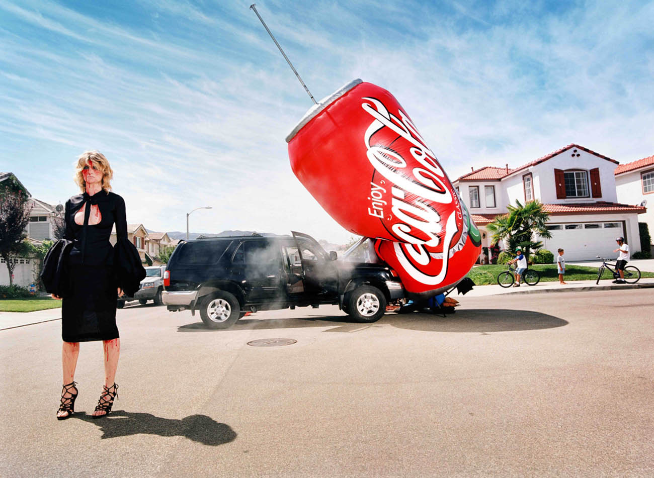 I Buy Big Car for Shopping by David LaChapelle - Guy Hepner