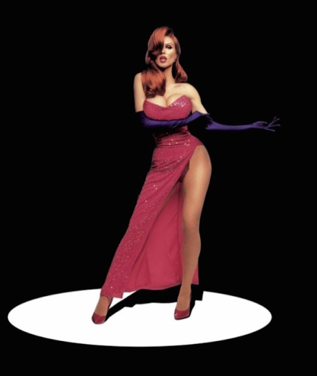 Heidi Jessica Rabbit by Mark Seliger