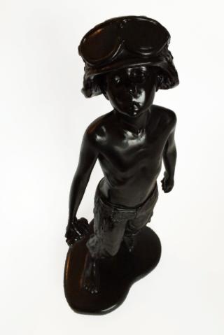Kickass Gloss Black Sculpture 2:5