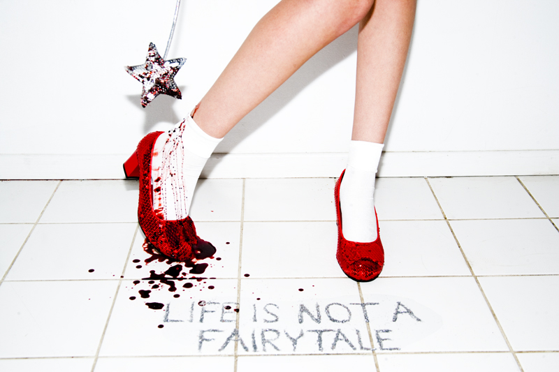 Life is not a FairytaleLife is Not A Fairytale by Tyler Shields