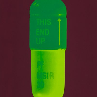 damien hirst, hirst, pills, neo art,the cure