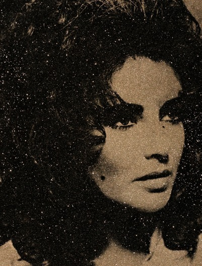Liz Taylor Atomic Gold by Russell Young
