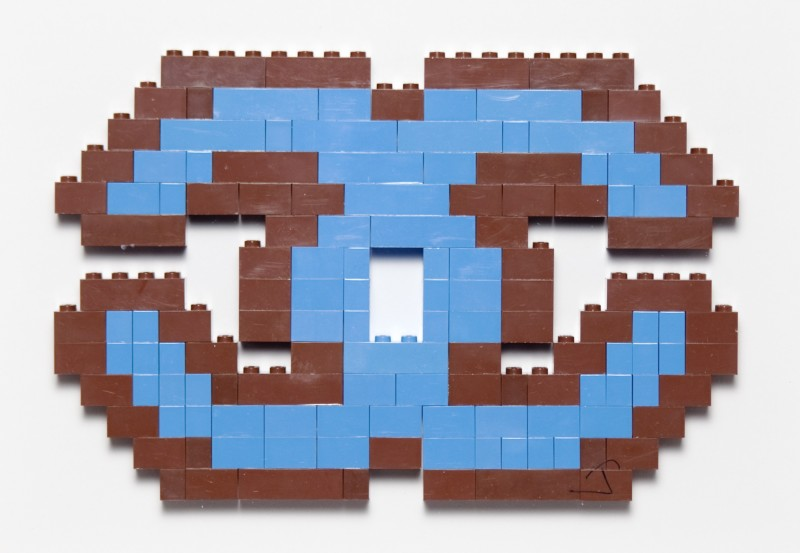 Luxury Lego ( Brown and Blue
