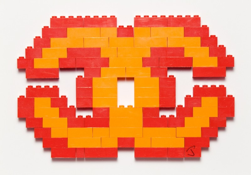 Luxury Lego Orange and Red by Jason Alper