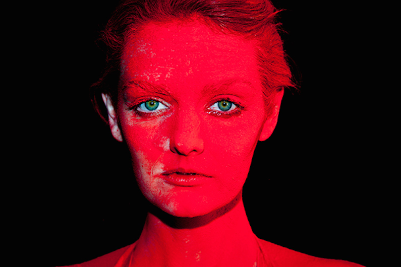 Lydia Chromatic Red by Tyler Shields