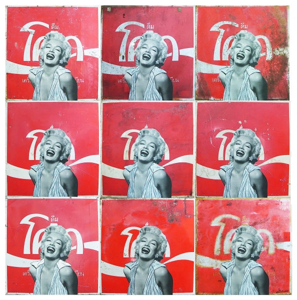 Marilyn on Coke