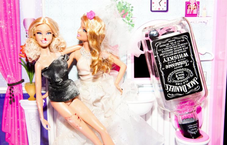 Party Barbie by Tyler Shields