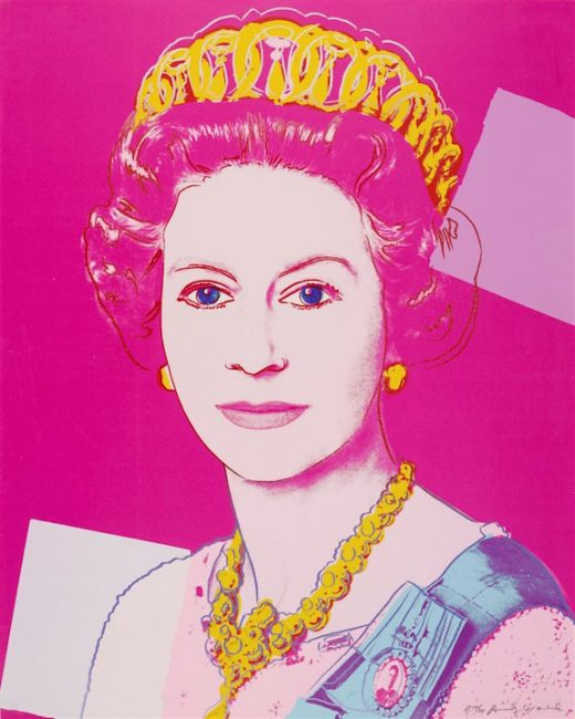 queen elizabeth, andy warhol, pop art , prints