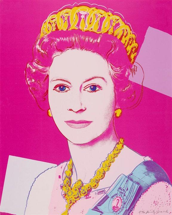 Queen Elizabeth 336 By Andy Warhol Guy Hepner