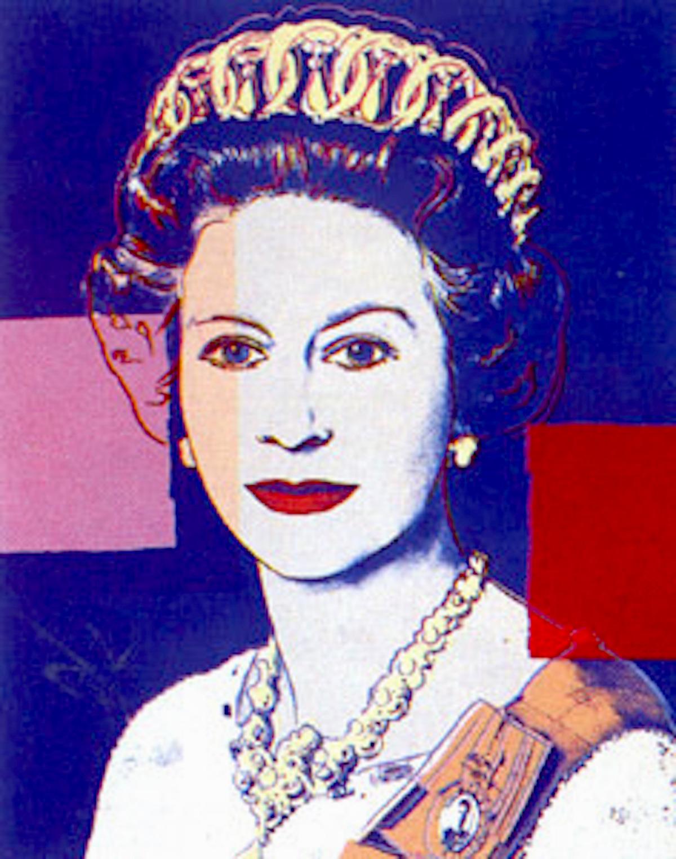 337 Queen Elizabeth by Andy Warhol