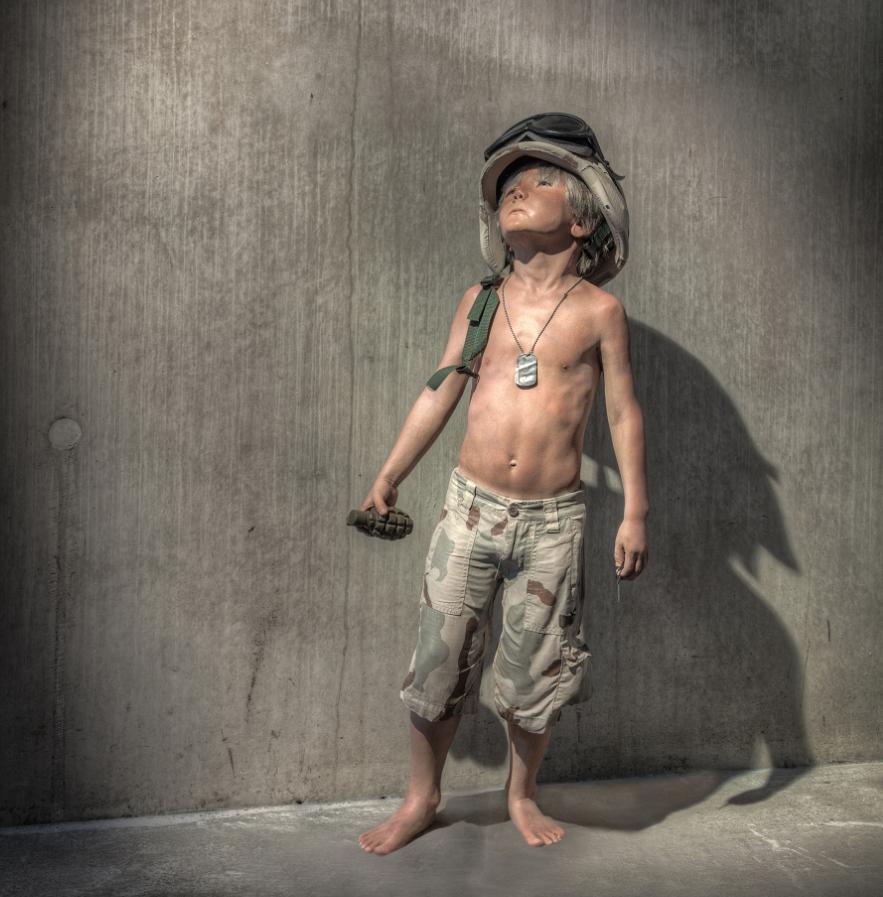 Seven (Boy Soldier) by Schoony